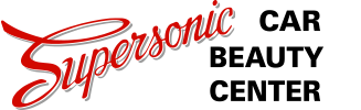 Supersonic Car Beauty Center Logo