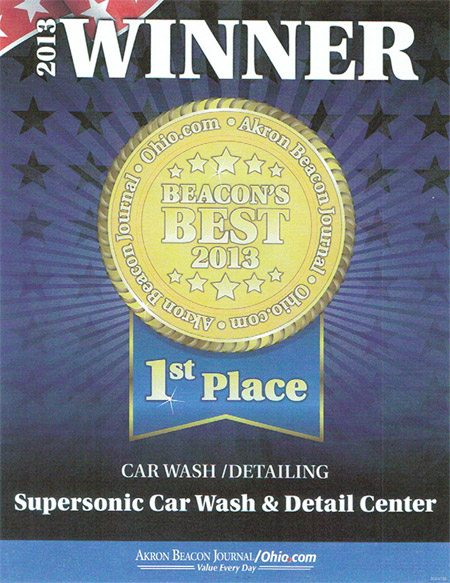 Supersonic Car Wash & Car Beauty Center: Car Detailing In