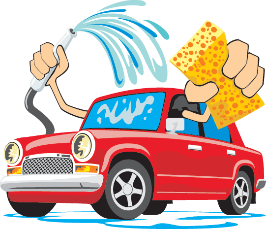 Cartoon car wash supersonic car beauty center for Clean car pictures